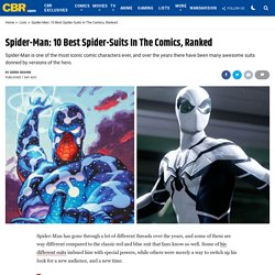 Spider-Man: 10 Best Spider-Suits In The Comics, Ranked