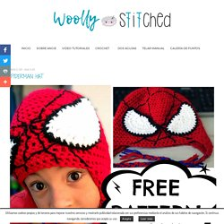 Spiderman Hat - Woolly & Stitched