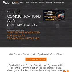 SpiderOak.com | Free Windows, Mac and Linux Online Backup, Online Sync, Share & Storage