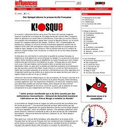 Der Spiegel allume la presse écrite française