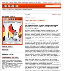 DER SPIEGEL29/2014 - Jeder Westler ist ein Rassist