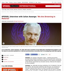 Interview with WikiLeaks Head Julian Assange