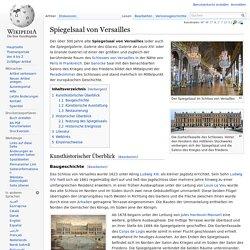 Spiegelsaal von Versailles