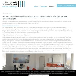 Magen-Darm Spiegelung nahe dem Bezirk Grieskirchen