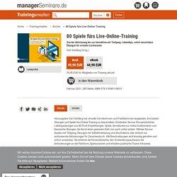 80 Spiele fürs Live-Online-Training (Buch)
