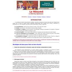 Dr. Guy Spielmann: Le Résumé - Introduction