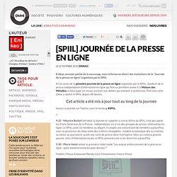 [SPIIL] Journée de la presse en ligne » Article » OWNI, Digital Journalism