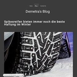 Spikesreifen - demetras-blog.simplesite.com
