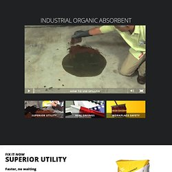 Industrial Organic Absorbent