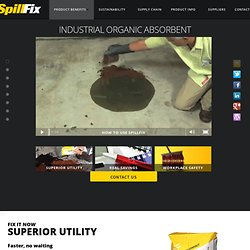 Industrial Absorbent Product - SpillFix
