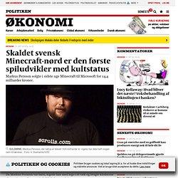 Skaldet svensk Minecraft-nørd er den første spiludvikler med kultstatus