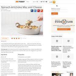 Spinach-Artichoke Mac and Cheese
