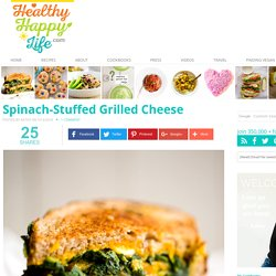 Spinach-Stuffed Grilled Cheese
