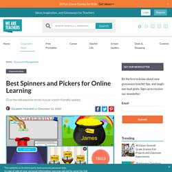 Best Spinners and Pickers for Online Learning - We Are Teachers
