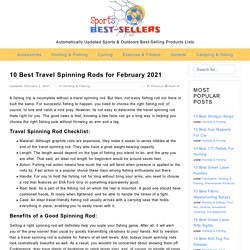 10 Best Travel Spinning Rods for February 2021 - Sports & Outdoors Best-Sellers Reviews