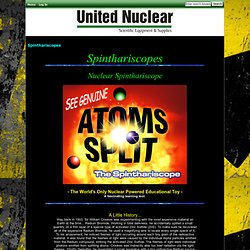 Spinthariscopes : United Nuclear , Scientific Equipment & Supplies