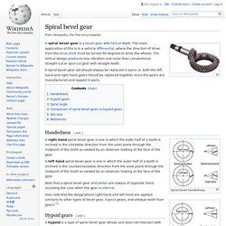 Spiral bevel gear - Wikipedia