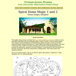 Spiral Dome Magic Plans