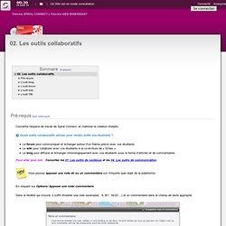 Wiki - 02. Les outils collaboratifs