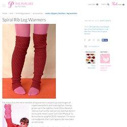 Spiral Rib Leg Warmers