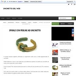 SPIRALE CON PERLINE AD UNCINETTO - Uncinetto Del Web