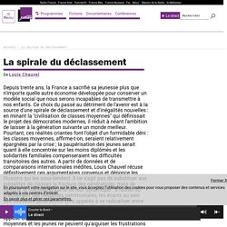La spirale du déclassement - France Culture