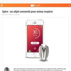 Spire : un objet connecté pour mieux respirer