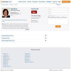 Gigi Spires Real Estate Agent in Franklin, TN