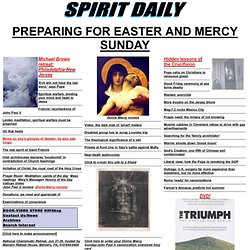 Spirit Daily - Daily spiritual news from around the world