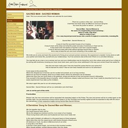 Spirit Horse Foundation - Sacred Man:Sacred Woman