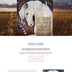 Spirit Horse — Ivy Newport