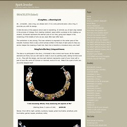 Spirit Jeweler » BRACELETS (linked)
