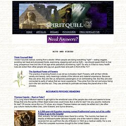 SpiritQuill - spirituality, new age, dreams, writing, paranormal, psychic topics