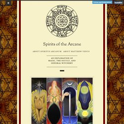 Spirits of the Arcane