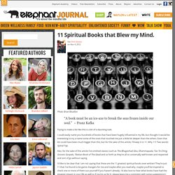 11 Spiritual Books That Blew My Mind.