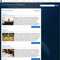 Watch Spiritual Documentaries Online Free