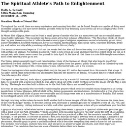 THE SPIRITUAL ATHLETE'S PATH OF ENLIGHTENMENT