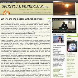 SPIRITUAL FREEDOM ZONE