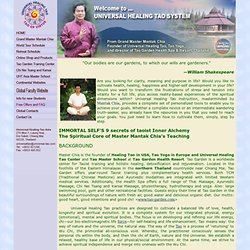 The Spiritual Core of Master Mantak Chia's Teaching