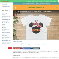 7 Disney Christmas SVGs And Their Meanings