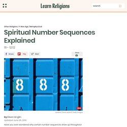 Spiritual Number Sequences Explained