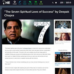 """The Seven Spiritual Laws of Success"" by Deepak Chopra"