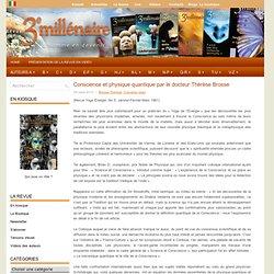 Conscience et physique quantique par le docteur Thérèse Brosse
