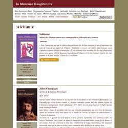 Alchimie, Editeur de livres en ligne alchimie, spiritualité, santé, tradition...