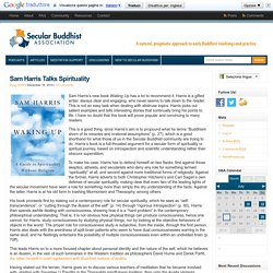 Sam Harris Talks Spirituality