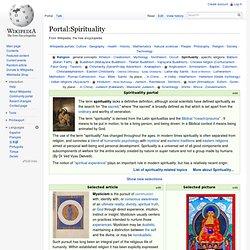 Portal:Spirituality