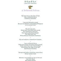 SPIRITUALITY: Hafiz