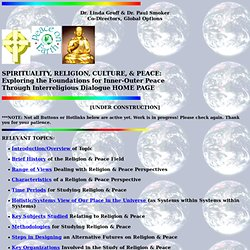 SPIRITUALITY, RELIGION, CULTURE, & PEACE