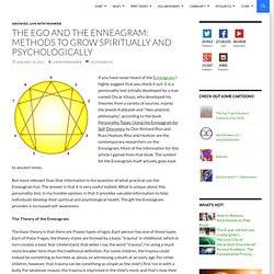 The ego and the Enneagram: Methods to grow spiritually and psychologically
