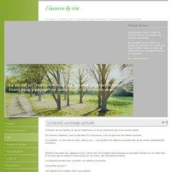 Chemin de Vie La chasteté, une énergie spirituelle - Aimer autrement - Info-Jeunes Site www.chemindevie.be